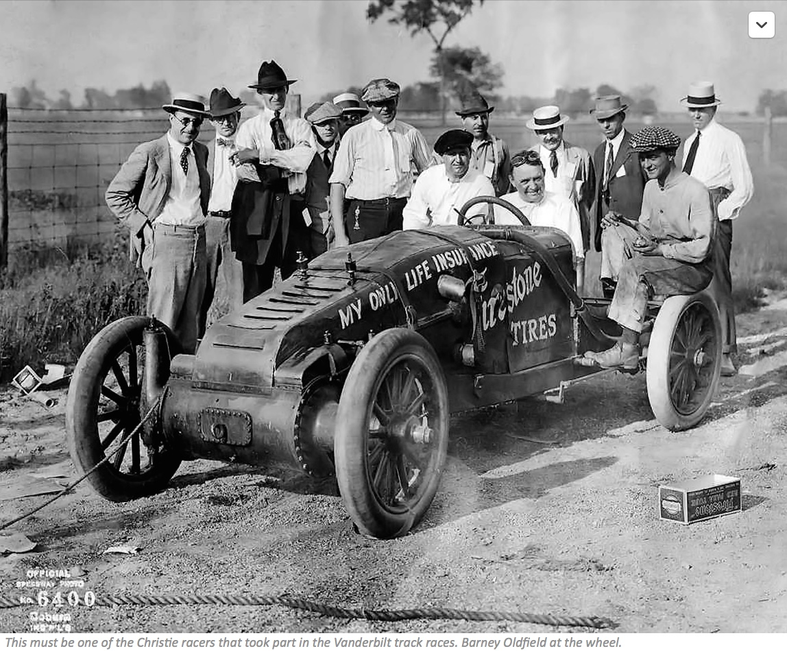 THE BRUTAL AMERICAN 20-LITRE V-4 FRONT WHEEL DRIVE CHRISTIE RACING ...