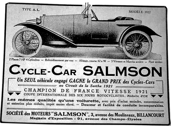 Salmson Cycle-Car